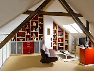 Phòng giải trí phong cách hiện đại bởi Schmidt Küchen Hiện đại