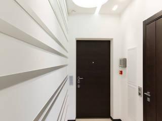 Andrey Gulyaev Architects Pasillos, vestíbulos y escaleras de estilo minimalista