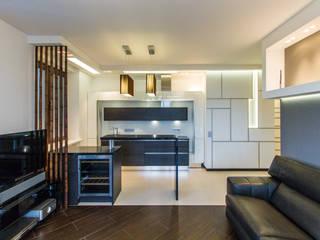 Andrey Gulyaev Architects Cocinas de estilo minimalista
