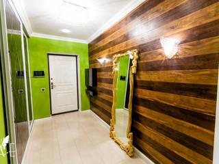 Интерьер квартиры 80 м2 Коридор, прихожая и лестница в эклектичном стиле от Apolonov Interiors Эклектичный