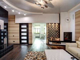 Modern living room by Студия Искандарова Modern