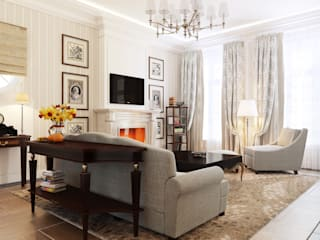 Classic style living room by Студия Искандарова Classic