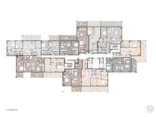 Grundriss und Möblierungsplan:   von Maske + Suhren Gesellschaft von Architekten mbh