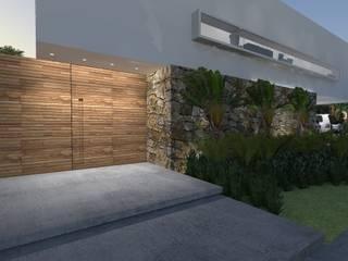 ZAAV Arquitetura ミニマルな 庭