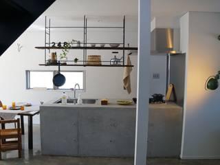 Projekty,  Kuchnia zaprojektowane przez さくま建築設計事務所,