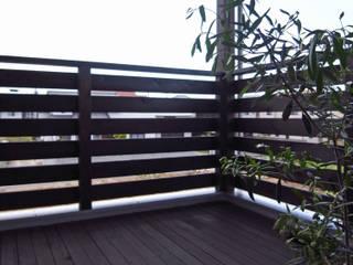 馬木の家 House in Umaki,Matsuyama モダンデザインの テラス の wada architectural design office 和田設計 モダン