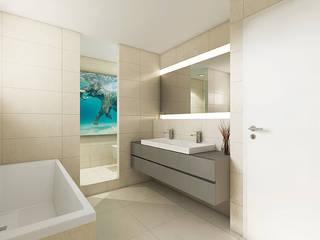 """""""mynido"""" Smart Homes: moderne Badezimmer von iHaus"""