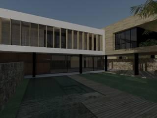 ミニマルな 家 の ZAAV Arquitetura ミニマル