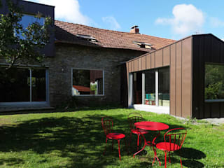 Modern Houses by tact architectes Modern