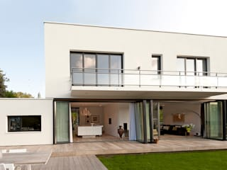Case in stile  di paul seuntjens architectuur en interieur