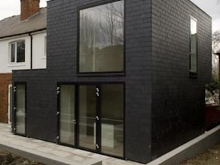 Castlewood Road: minimalistic Houses by HoughtonBudd Architects