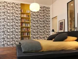 Dossier papier peint : Chambre de style de style Moderne par Camille Hermand Architectures