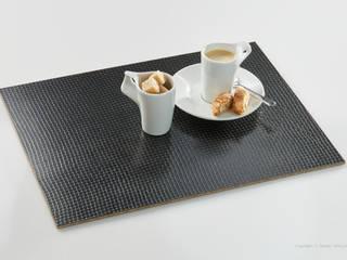 tafel-gold Tischset 'Zinn Netz':   von tafel-gold