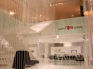 Oficinas y Tiendas de estilo  por Vegni Design, Minimalista