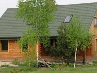 Dom nad jeziorem : styl , w kategorii Dach szczytowy zaprojektowany przez MMA Pracownia Architektury