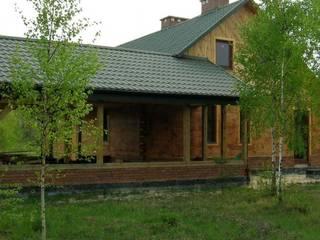 Dom nad jeziorem : styl , w kategorii Domy zaprojektowany przez MMA Pracownia Architektury