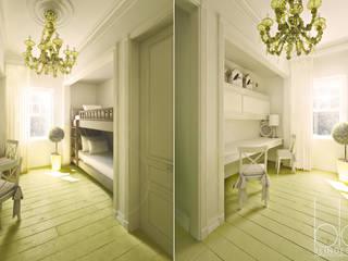 """Частный дом, коттеджный поселок """"Стольный"""": Детские комнаты в . Автор – BEINDESIGN,"""