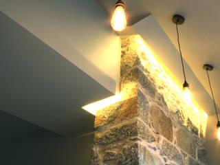 Monaltrie House: modern Kitchen by Fiddes Architects