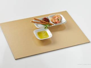 tafel-gold Tischset 'Goldrille':  Esszimmer von tafel-gold