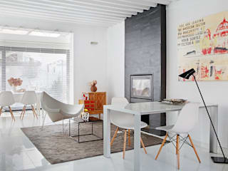 Modern Living Room by emase Modern