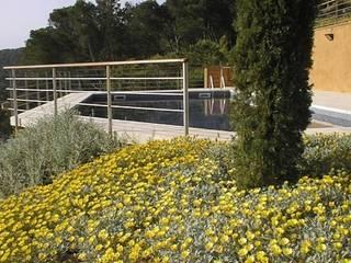 Jardín del Faro (Costa Brava) AB Paisatgistes SL Jardines de estilo mediterráneo