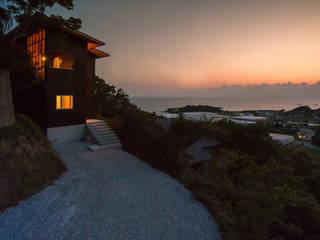 Tei Asiatische Häuser von キリコ設計事務所 Asiatisch
