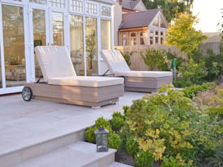 Smooth Natural Sandstone Paving:  Terrace by Unique Landscapes