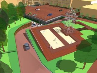 Parkeergarage Masiusplein van Buro Topia stads- en landschapsontwerp