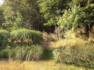 Naturalistic garden in Hampshire Country style garden by Roeder Landscape Design Ltd Country