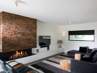 Moderne Wohnzimmer von Wonderwall Studios Modern
