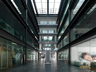 Net Center Padova Negozi & Locali commerciali moderni di LVL Architettura Moderno