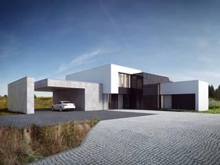 Dom na Stokach: styl minimalistyczne, w kategorii Domy zaprojektowany przez REFORM Architekt Marcin Tomaszewski