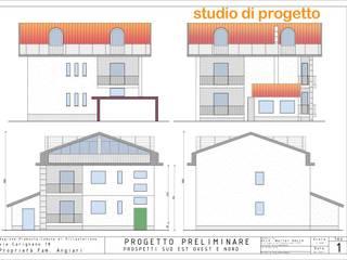 ristrutturazione e ampliamento villa unifamiliare LATERES servizi per l'edilizia Case moderne