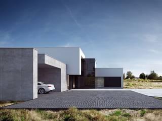 Casas de estilo minimalista de REFORM Architekt Marcin Tomaszewski Minimalista
