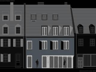 Fürst & Niedermaier, Architekten Casas de estilo moderno