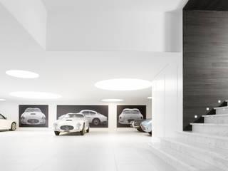 Garajes de estilo moderno de ligne V Moderno