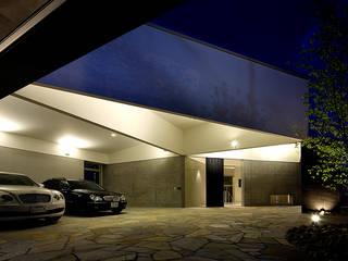 NKJ オリジナルデザインの ガレージ・物置 の kt一級建築士事務所 オリジナル