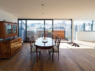 Penthouse P t-hoch-n Architektur Klassische Esszimmer