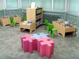 Teddington Library Modern commercial spaces by Salt and Pegram Modern
