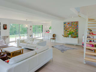 ANTOINE LAINE ARCHITECTURES Modern living room