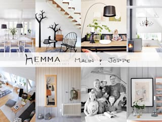 hEMMA Interior Scandinavian style living room