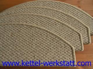 extra kleine Stufenmatten aus 100% Wolle Klassischer Flur, Diele & Treppenhaus von Kettelbetrieb Tesche Klassisch