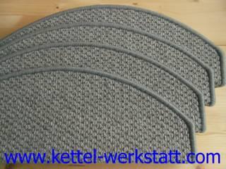 extra kleine Stufenmatten aus 100% Wolle von Kettelbetrieb Tesche Rustikal
