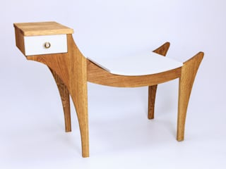 "Bench ""Griffin"" par Meble Autorskie Jurkowski Minimaliste"