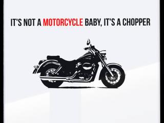 IT IS NOT A MOTORCYCLE: styl , w kategorii  zaprojektowany przez MSP Sp. z o.o.