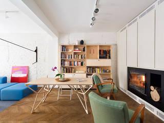 Apartment v01 Moderne Wohnzimmer von dontDIY Modern