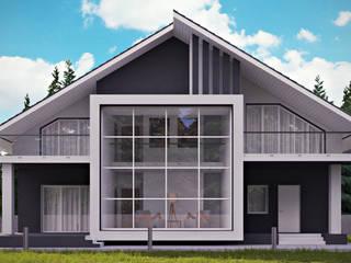 студия визуализации и дизайна интерьера '3dm2' Casas de estilo minimalista