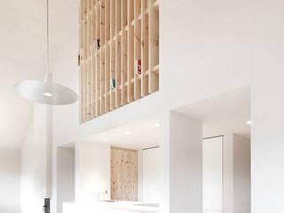 CHALET - LAPEDEVILLA Moderne Küchen von PEDEVILLA ARCHITECTS Modern