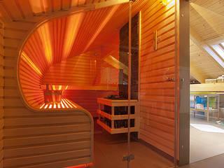 Sauna: modernes Spa von Rockstroh & Sohn GmbH
