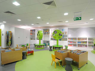 High Wycombe Library Modern commercial spaces by Salt and Pegram Modern
